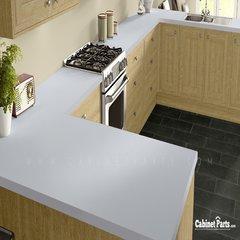 Wilsonart Solid White Matte Finish 4 ft. x 8 ft. Peel/Stick Vertical Grade Laminate Sheet 1570-60-735-48X096