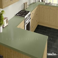Wilsonart Sprout Matte Finish 5 ft. x 12 ft. Countertop Grade Laminate Sheet 4918-60-350-60X144
