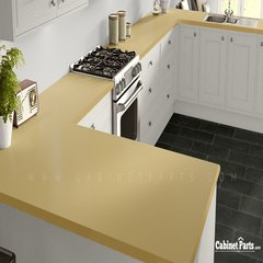 Wilsonart Sunshine Matte Finish 5 ft. x 12 ft. Countertop Grade Laminate Sheet D499-60-350-60X144