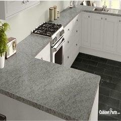 Wilsonart White Juparana Fine Velvet Texture Finish 4 ft. x 8 ft. Vertical Grade Laminate Sheet 4931-38-335-48X096