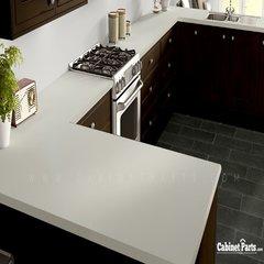Wilsonart White Sand Matte Finish 4 ft. x 8 ft. Peel/Stick Vertical Grade Laminate Sheet D403-60-735-48X096