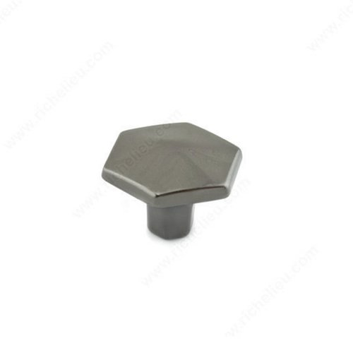 Honeycomb 1-3/16 Inch Diameter Black Nickel Cabinet Knob <small>(#507830091)</small>