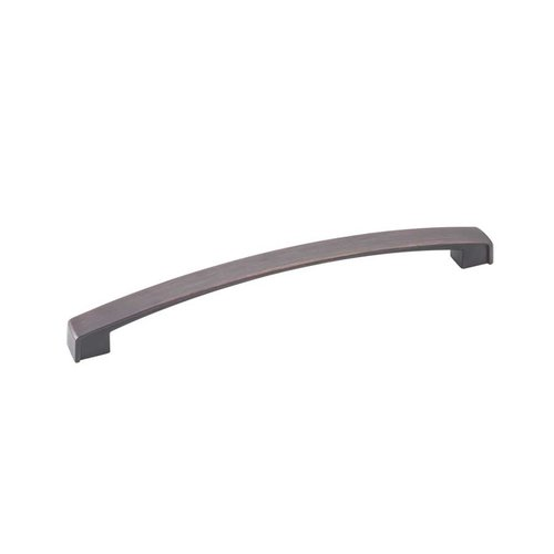 Jeffrey Alexander Merrick 7-9/16 Inch Center to Center Brushed Oil Rubbed Bronze Cabinet Pull 549-192DBAC