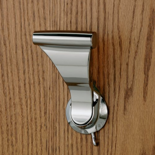 UltraLatch For 1-3/8 inch Door Bright Nickel <small>(#L18P-14)</small>