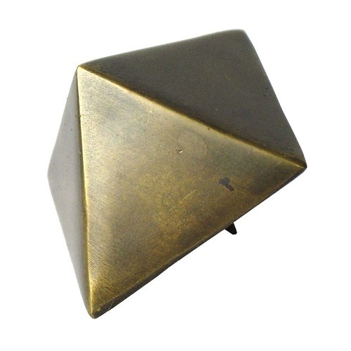 "Pyramid Clavo 1-5/16"" Dia - Antique Brass <small>(#HCL1206)</small>"