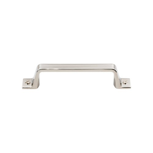 Top Knobs Barrington 3-3/4 Inch Center to Center Polished Nickel Cabinet Pull TK743PN