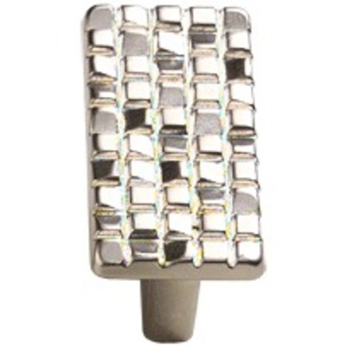 Schaub and Company Italian Designs Mosaic 1-1/4 Inch Center to Center Satin Nickel Cabinet Knob 235-15