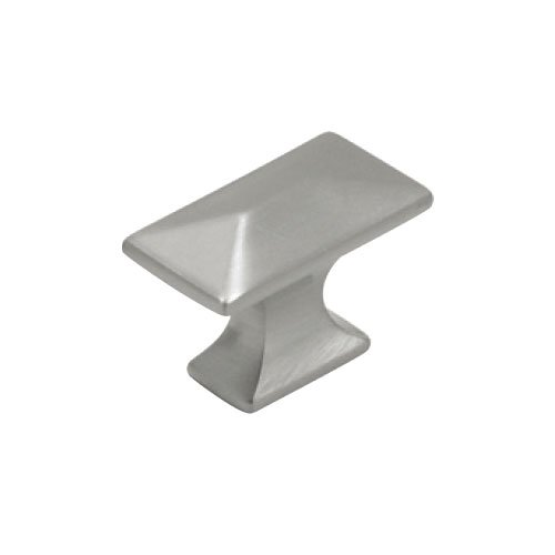 Hickory Hardware Bungalow 1-1/4 Inch Length Satin Nickel Cabinet Knob P2150-SN