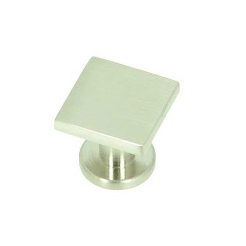 Milan 1 Inch Diameter Satin Nickel Cabinet Knob <small>(#CP4416-SN)</small>