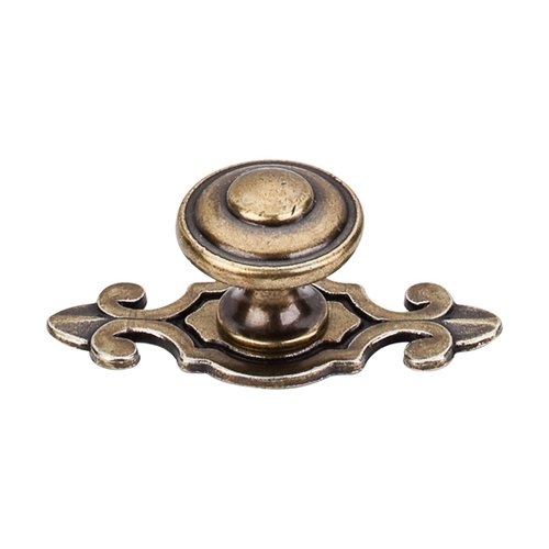 Top Knobs Britannia 1-1/4 Inch Diameter German Bronze Cabinet Knob M31