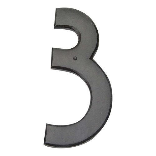 Atlas Homewares Mission House Number Three Aged Bronze RCN3-O