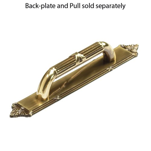 Schaub and Company Versailles Forged Solid Brass 3-3/4 Inch Center to Center Antique Light Polish Back-plate 763-ALP
