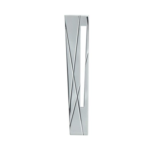 Atlas Homewares Modernist 3 Inch Center to Center Polished Chrome Cabinet Pull 253L-CH