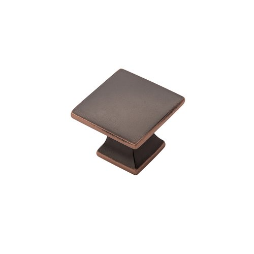"Hickory Hardware Studio Knob 1-1/4"" Dia Oil Rubbed Bronze Highlighted P3028-OBH"