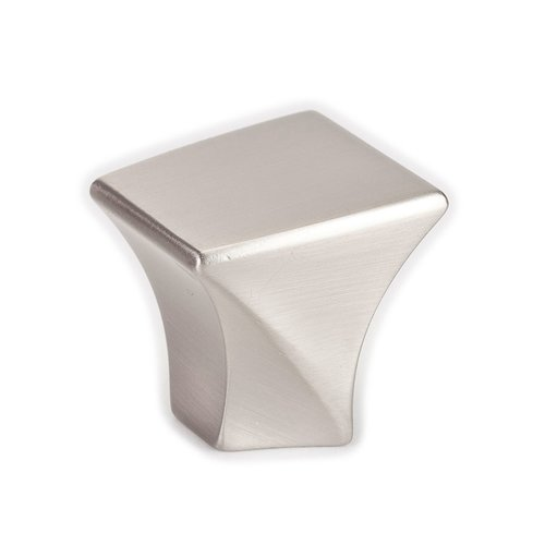 Fluidic 1-3/16 Inch Length Brushed Nickel Cabinet Knob <small>(#9480-1BPN-P)</small>