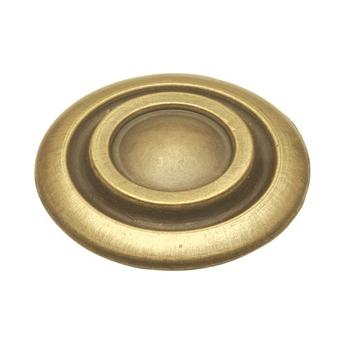 Cavalier 1-1/4 Inch Diameter Antique Brass Cabinet Knob <small>(#P121-AB)</small>