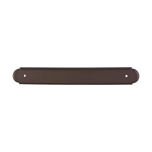 Top Knobs Appliance Pull 12 Inch Center to Center Oil Rubbed Bronze Back-plate M873