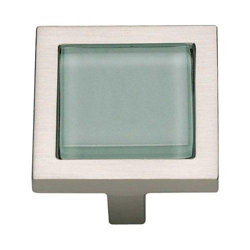 Atlas Homewares Spa 1-3/8 Inch Diameter Brushed Nickel Cabinet Knob 230-GR-BRN