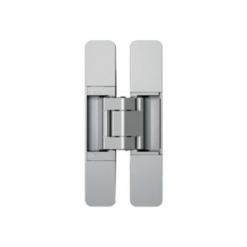 Sugatsune 3 Way Adjustable Hinge-Matte Silver HES3D-160SL