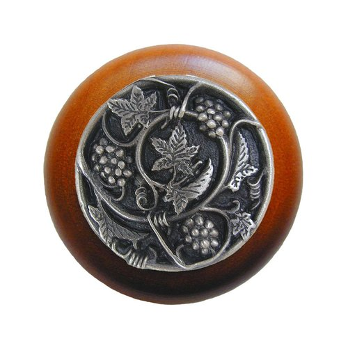 Notting Hill Tuscan 1-1/2 Inch Diameter Antique Pewter Cabinet Knob NHW-729C-AP