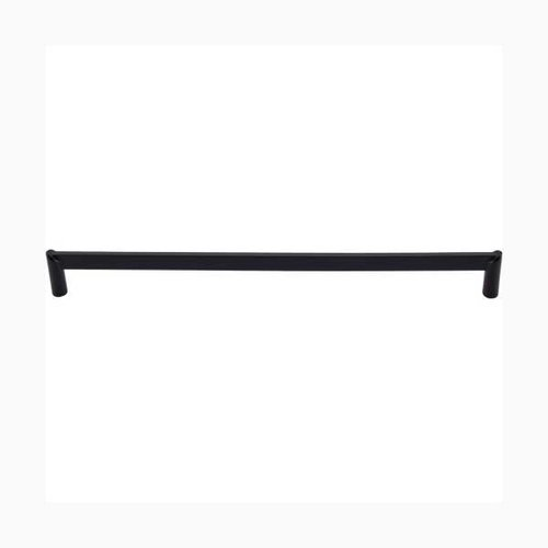 Top Knobs Sanctuary II 12 Inch Center to Center Flat Black Cabinet Pull TK242BLK