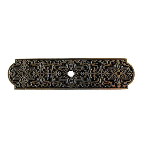 Notting Hill Olde World 3-7/8 Inch Length Brite Brass Back-plate NHE-570-BB