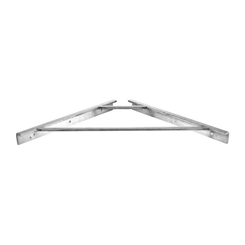 "Federal Brace Cascata Shower Bench Support 16"" X 16"" Stainless Steel 30430"