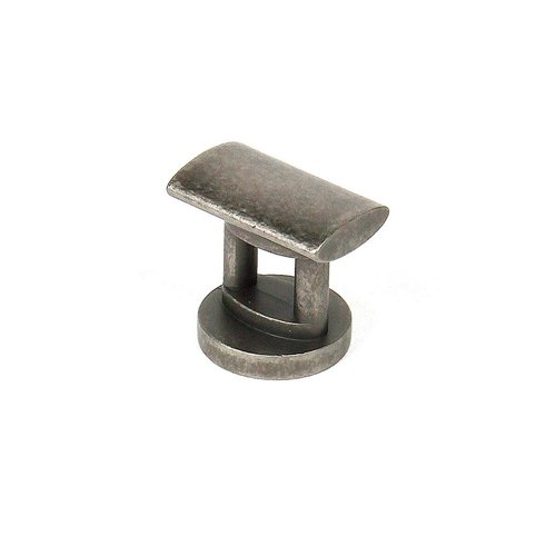 Monarch 1 Inch Diameter Antique Pewter Cabinet Knob <small>(#29316-AP)</small>