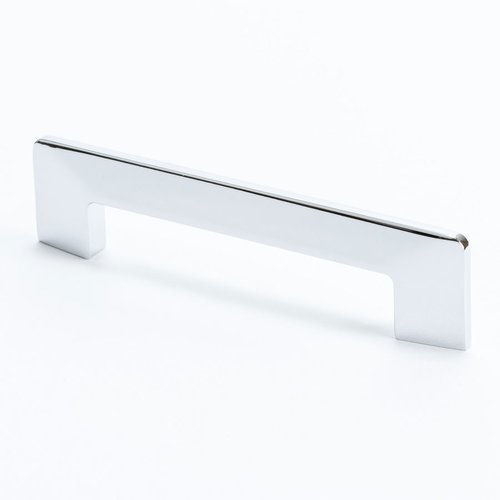 R. Christensen Edge 3-3/4 Inch Center to Center Polished Chrome Cabinet Pull 9273-1026-C
