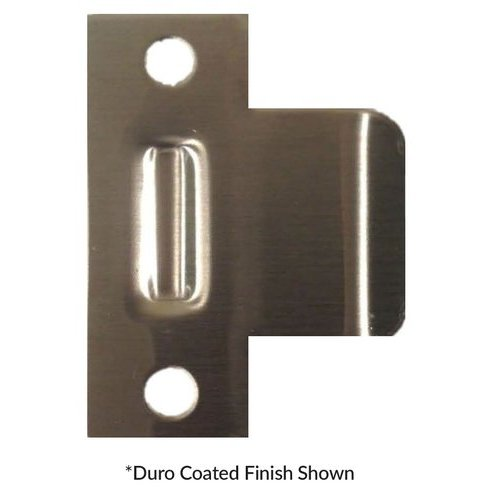 Don-Jo Extended Lip Strike 2-1/3 inch x 3 inch Satin Bronze EL-103-609