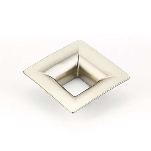 Schaub and Company Finestrino 1-1/4 Inch Center to Center Satin Nickel Cabinet Pull 440-15