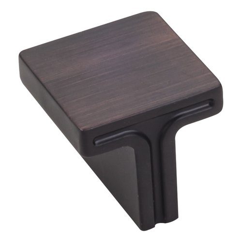 "Jeffrey Alexander Anwick Cabinet Knob 1-1/8"" Dia - Brushed Oil Rubbed Bronze 867L-DBAC"