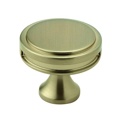 "Amerock Oberon Knob 1-3/8"" Dia Golden Champagne BP36603BBZ"