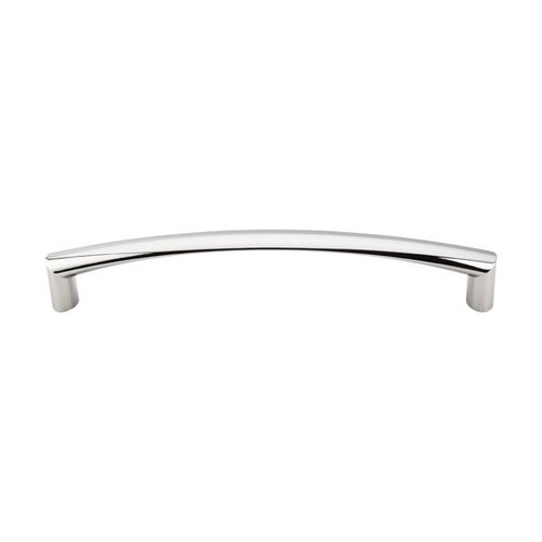 Top Knobs Appliance Pull 12 Inch Center to Center Polished Nickel Appliance Pull TK141PN