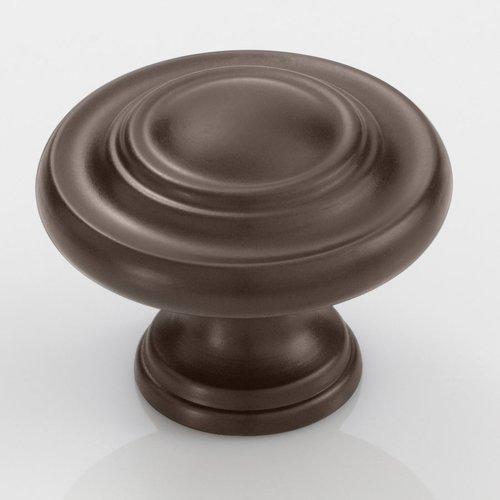 Amerock Inspirations 1-3/4 Inch Diameter Caramel Bronze Cabinet Knob BP15862CBZ