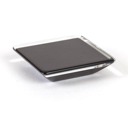 R. Christensen Core 5/8 Inch Center to Center Black Transparent Cabinet Pull 9766-7000-P
