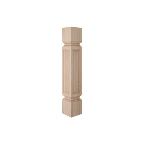 Brown Wood Madeline Traditional Column Unfinished Hard Maple 01100218HM1