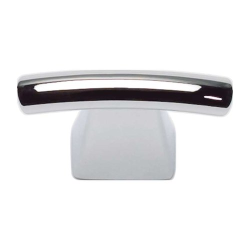 Atlas Homewares Fulcrum 1-1/2 Inch Diameter Brushed Nickel Cabinet Knob 305-CH