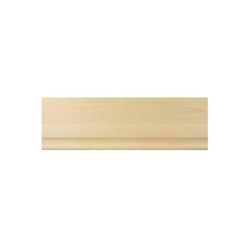 Brown Wood Simplicity Moulding Unfinished Hard Maple 01828410HM1