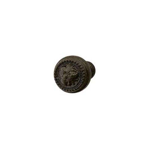 Hafele Artisan 1 Inch Diameter Oil Rubbed Bronze Cabinet Knob 125.86.331