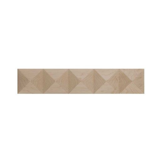 Brown Wood Medium Pinnacle Onlay Unfinished Cherry 01903516HM1