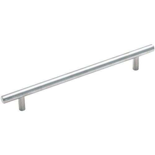Amerock Bar Pulls 7-9/16 Inch Center to Center Stainless Steel Cabinet Pull BP19012SS