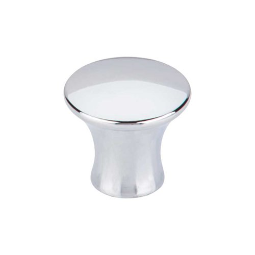 Top Knobs Mercer 1-1/8 Inch Diameter Polished Chrome Cabinet Knob TK591PC