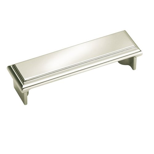 Amerock Manor 3 Inch Center to Center Polished Nickel Cabinet Pull BP26130PN