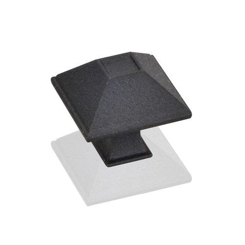 Jeffrey Alexander Tahoe 1-1/4 Inch Diameter Black Cabinet Knob 602S-BLK