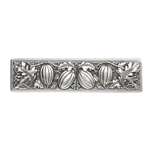 Notting Hill Kitchen Garden 3 Inch Center to Center Brilliant Pewter Cabinet Pull NHP-651-BP