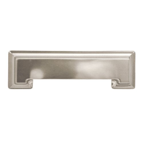 Hickory Hardware Studio 3-3/4 Inch Center to Center Stainless Steel Cabinet Pull P3013-SS