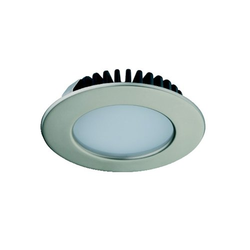 Hafele Loox 2020 12V LED Matte Nickel Spotlight Warm White 833.72.280