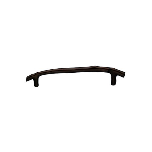 Top Knobs Aspen 8 Inch Center to Center Mahogany Bronze Cabinet Pull M1353