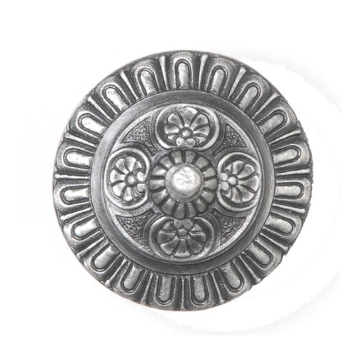Notting Hill King's Road 1-1/2 Inch Diameter Antique Pewter Cabinet Knob NHK-208-AP